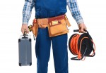 Electrician-with-Tool-BeltTool-Kit-and-Extension